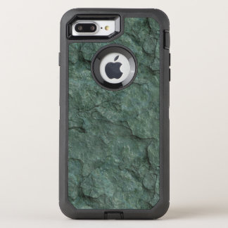 Chiseled Gray Green Rock OtterBox Defender iPhone 7 Plus Case