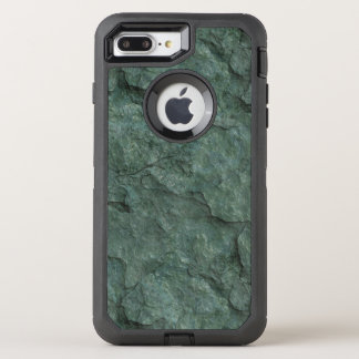 Chiseled Gray Green Rock OtterBox Defender iPhone 8 Plus/7 Plus Case