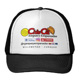 ChisGil cap Black/White Curaçao Trucker Hat
