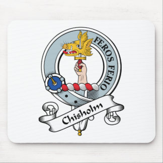 Chisholm Clan Badge Mouse Pad