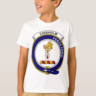 Chisholm Clan Badge T-Shirt