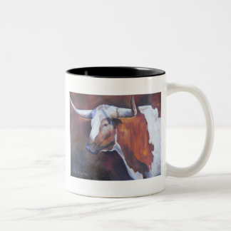 Chisholm Longhorn Two-Tone Coffee Mug
