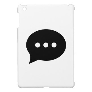 Chit-Chat Pictogram iPad Mini Case