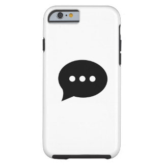 Chit-Chat Pictogram iPhone 6 Case Tough iPhone 6 Case