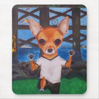 Chito, the Chihuahua Mousepad