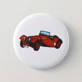 Chitty Car 2 Inch Round Button