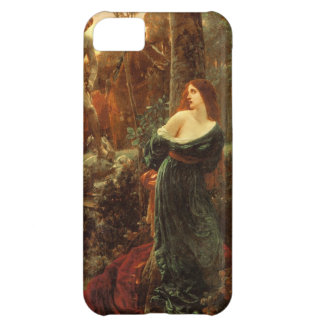 Chivalry [Sir Frank Dicksee] Cover For iPhone 5C