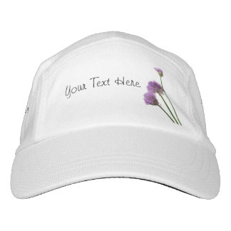 chives in bloom hat