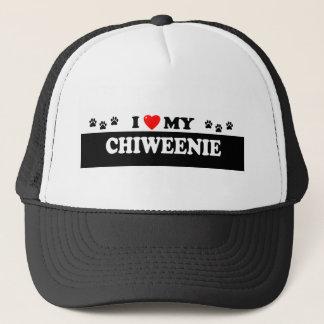 CHIWEENIE TRUCKER HAT