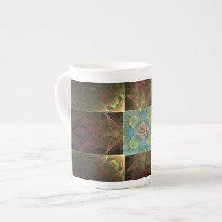[CHK-ABS-1] Pretty fractal tile Tea Cup
