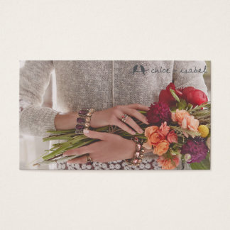 Chloe and isabel Business card