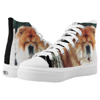 CHLOE IN THE SNOW chow hightop sneakers