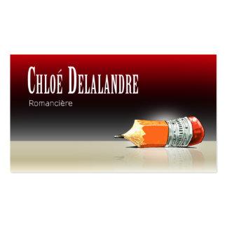 Chloé Novelist Editor 5 Stylish Pack Of Standard Business Cards