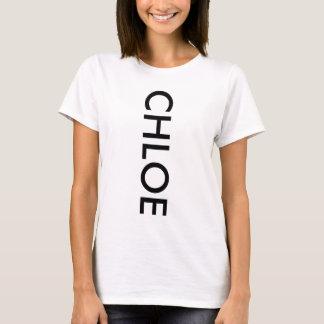 Chloe shirt white black