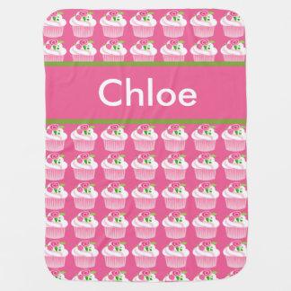 Chloe's Personalized Cupcake Blanket