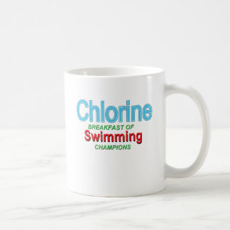 Chlorine Breakfast of Swimmers Coffee Mug