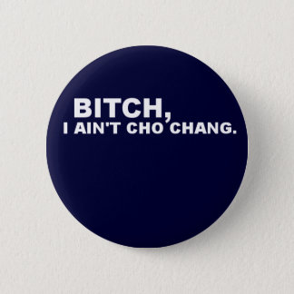 Cho Chang 2 Inch Round Button