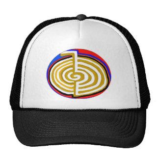 Cho ku rei CHOKUREI Reiki Healing Symbol TEMPLATE Mesh Hats
