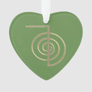 CHO KU REI FOR HEART CHAKRA ORNAMENT