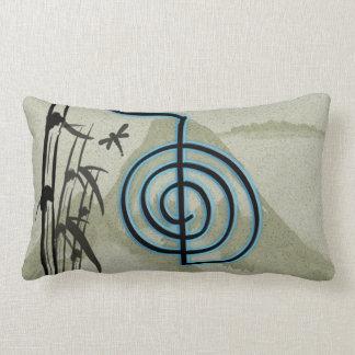Cho Ku Rei Reiki Mountain Lumbar Pillow