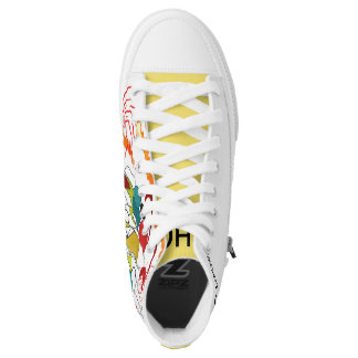 CHO YELLOW SUN RUNNERS HIGH TOPS
