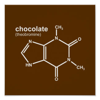 ChocChem $17.95 Graphic Art Wall Poster