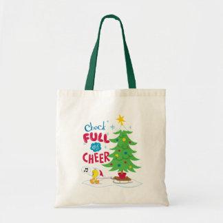 Chock Full Of Cheer Budget Tote Bag