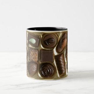 chocky break Two-Tone coffee mug