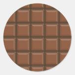 choco2 round sticker