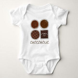 Chocoholic Box of Chocolates Chocolate Bon Bons Baby Bodysuit