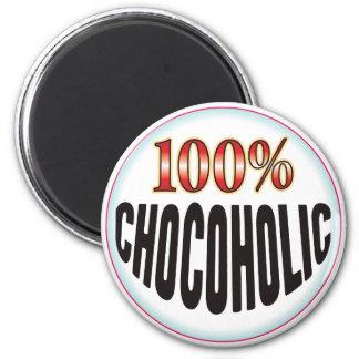 Chocoholic Tag Fridge Magnets
