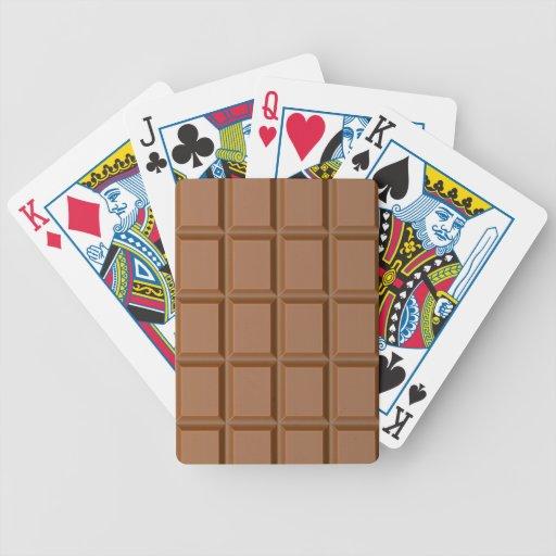 Chocolat Barres Jeu De 52 Cartes