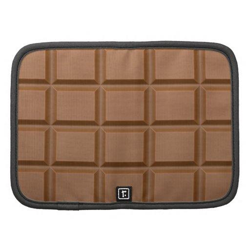 Chocolat Barres Agendas Folio