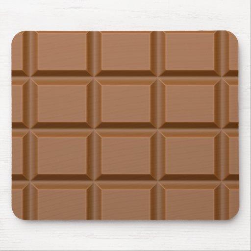 Chocolat Barres Tapis De Souris