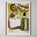 Chocolat Carpentier Print