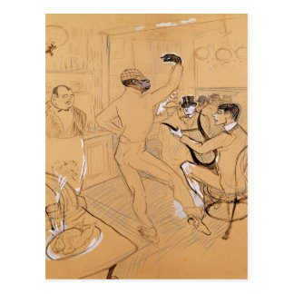 Chocolat Dancing, 1896 Postcard