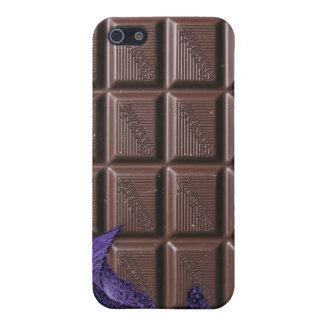 chocolat i - barre de bonbons au chocolat étuis iPhone 5