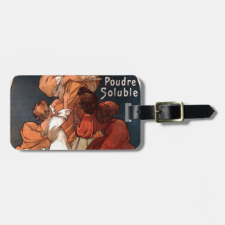 Chocolat Ideal by Alphonse Mucha Luggage Tag