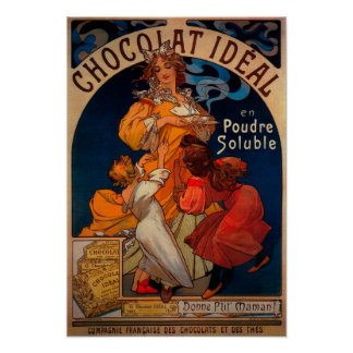 Chocolat Ideal Vintage PosterEurope Poster