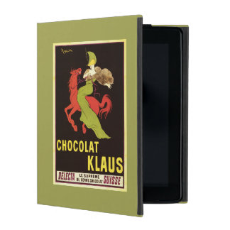 Chocolat Klaus Advertisement Poster iPad Case