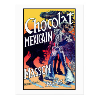 Chocolat Mexicain by Grasset Postcard