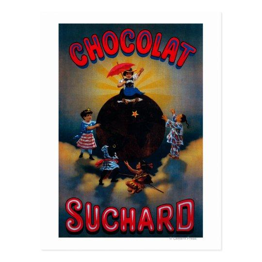 Chocolat Suchard Vintage PosterEurope Postcard