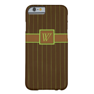 Chocolate and Lime Pinstripes Case-Mate Case