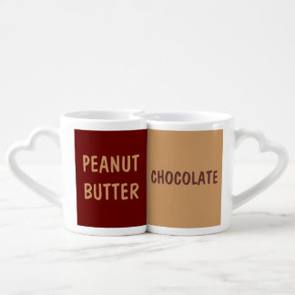 chocolate and peanut butter lovers mug