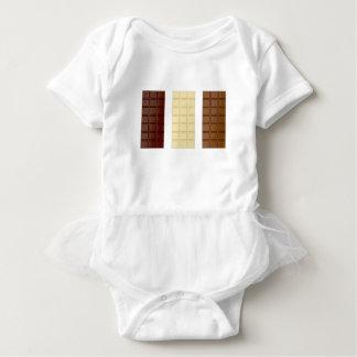 Chocolate bars baby bodysuit