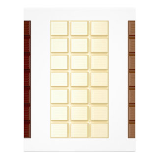 Chocolate bars letterhead