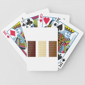Chocolate bars poker deck