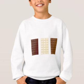 Chocolate bars sweatshirt
