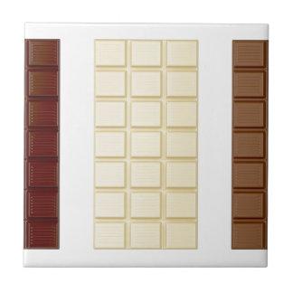 Chocolate bars tile