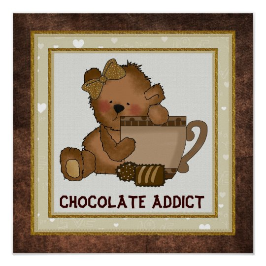 Chocolate Bear Poster